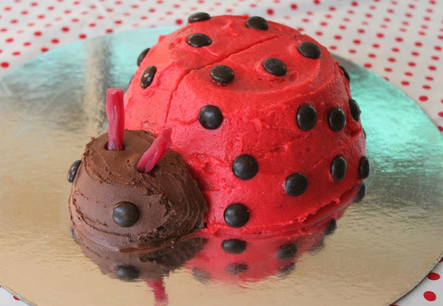 Cake Decorating Love To Know : Lucy s Ladybird Cake - Sew Delicious