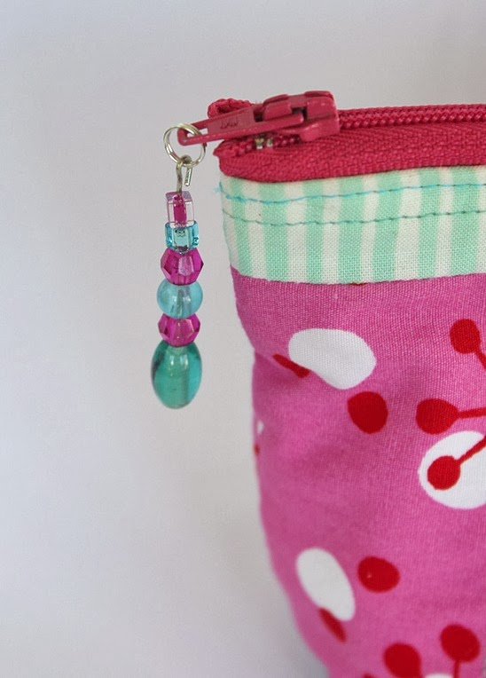 DIY Beaded Zipper Pull - Tutorial - Sew Delicious