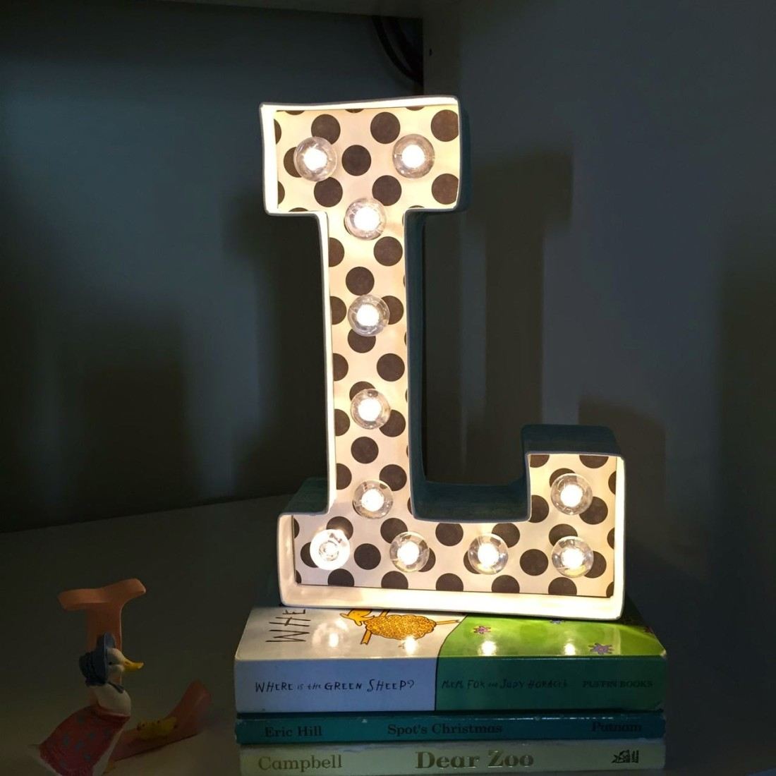 Diy Marquee Letter Night Light Tutorial Sew Delicious