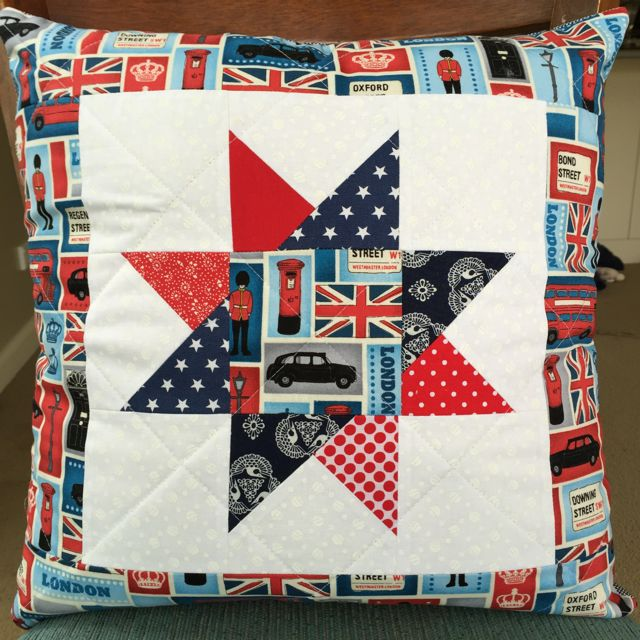London Quilted Cushion