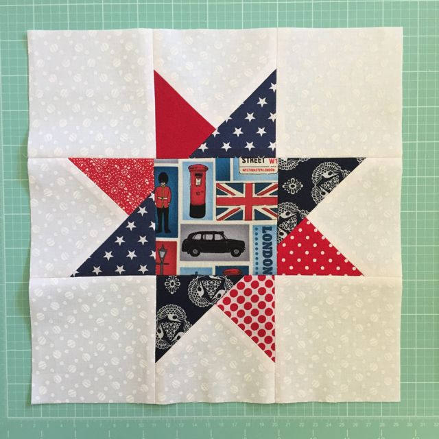 London themed July Star block