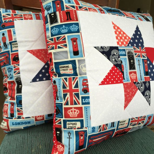 London cushion pair