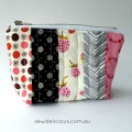 mini scrappy zip pouch