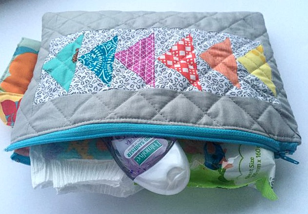 nappy bag interior