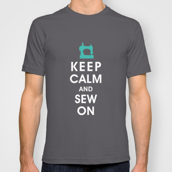 Keep Calm and Sew On T-shirt