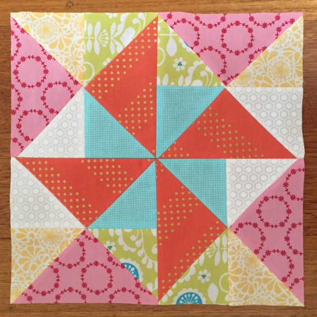 Spinwheel Quilt Block