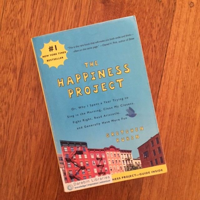 The Happiness Project by Gretchen Rubin