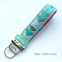 Tiny Geese Key Chain