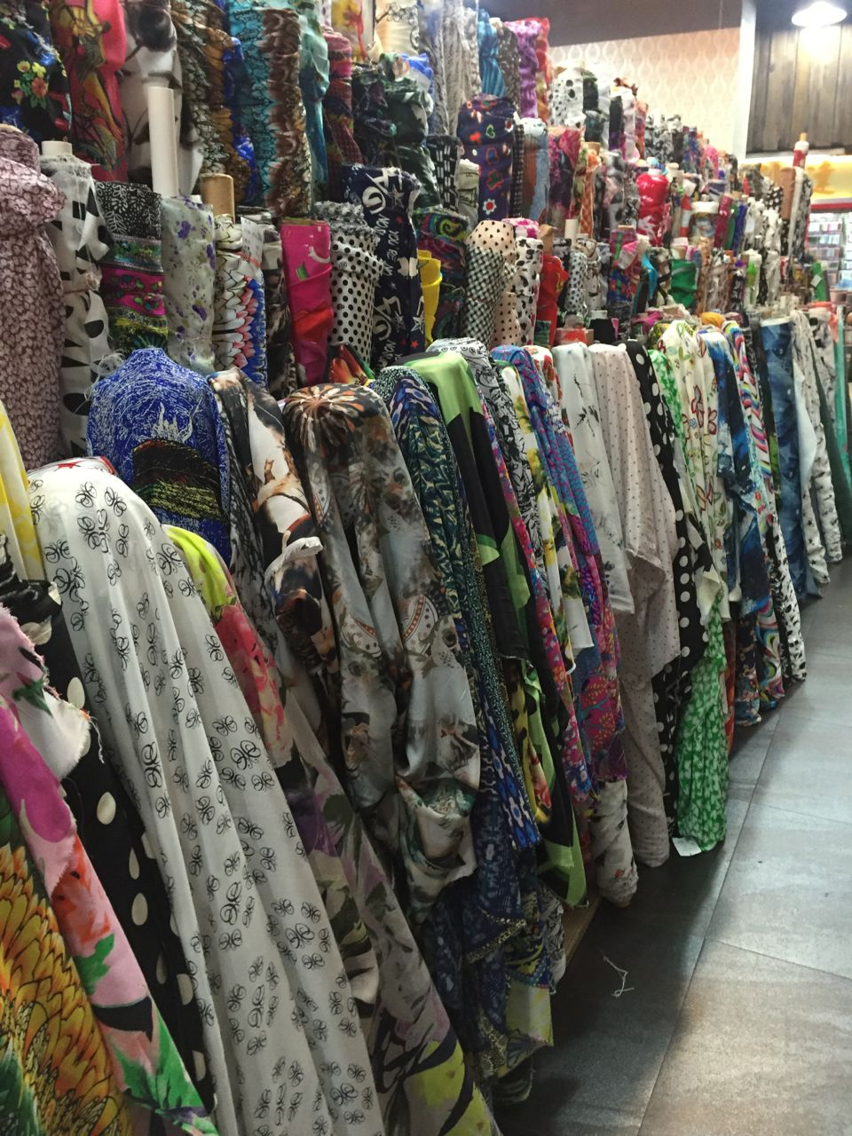 china fabric market