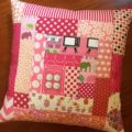 quilted pink cushion 2