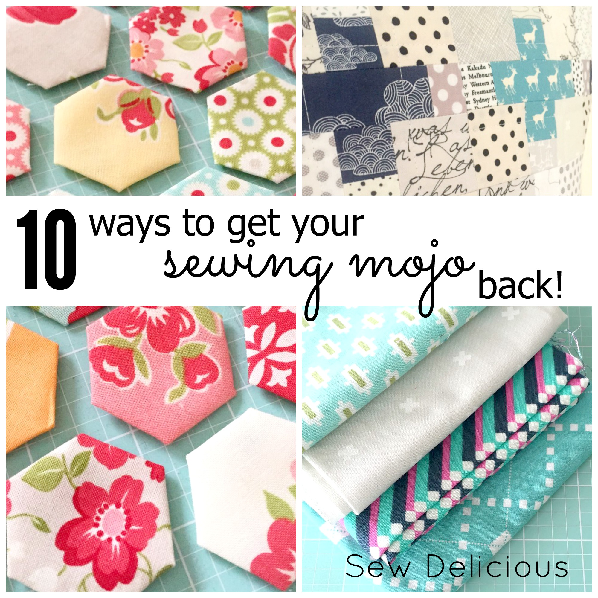 Get your sewing mojo back!