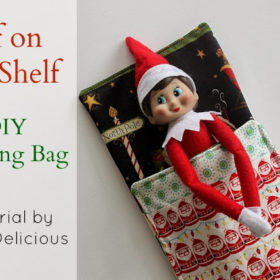 Elf on the Shelf Sleeping Bag - Tutorial