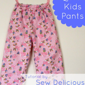 Quick & Easy Kids Pants - Tutorial