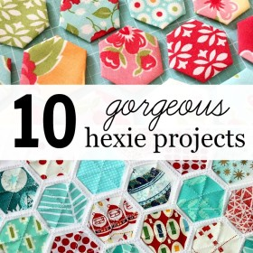 10 Gorgeous Hexie Projects