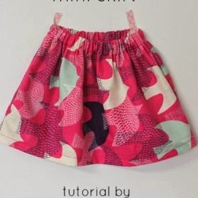 30 Minute Basic Skirt Tutorial